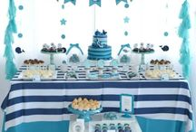 Asher's  baby shower