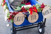Pop Up Holiday Cheer Wagon