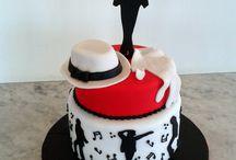 Micheal jackson cake