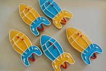 Sugar cookies/ outer space