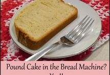 Bread Machine Cake Settings / Recipes using the bread machine cake setting