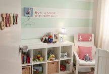Kids room idea's