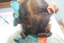 Hairsperiments and Grooming / Curly Girl hair taming experiments, kid hair styles, and a few forays into homemade grooming products such as cold cream.