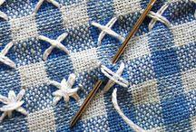 Chicken scratch sewing