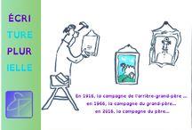 Dessins spontanés / Crayonnages, dessins de nappes, esquisses, illustrations, explications