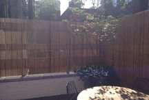 Fences / Urban Fences, Privacy Fence, Garden fence, IPE fence cedar fence, steal fence, natural fence, willow fence,