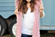 Scarves and hoodies / Crochet