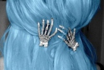 Funky hair clips
