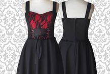 Vestidos GothStyle / #vestidosencaje #vestidosplato #vestidosnegros #darkdress #blackdress #gothstyle #gothdresses #lace