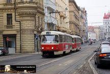 Prag - Straßenbahn Tatra T3 / Sie sehen hier eine Auswahl meiner Fotos, mehr davon finden Sie auf meiner Internetseite www.europa-fotografiert.de.
