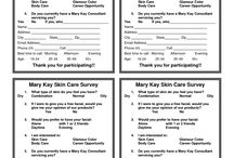 Skin Care Survey Mary Kay