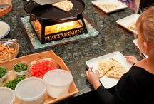 Fire Table Installations / Hibachi style cooking at home with family & friends! Check out all of our fire table options and find a dealer near you at Firetainment.com!