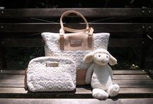 DIAPER BAGS / Beautiful leather bags for mums