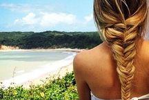 """The Perfect Beach Hair / When at the beach """"no fuss"""" hair is a must!"""