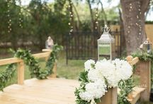 """Love Lock Bridge - Bakers Ranch - Wedding Ceremony Site / Love Lock Bridge - European Inspired """"Love"""" Bridge - wedding ceremony site. Personalized padlocks may be added to the Iron Gate to reinforce """"forever and always."""" We are bringing Paris to Parrish."""