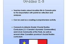 Acadian Community  - Grade 2 Social Studies / Alberta Education Grade 2 Social Studies