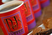 We love Coffee. / A full service cafe located on our lobby level serving light breakfast fare as well as lunch and dinner soups, salads and paninis daily. 