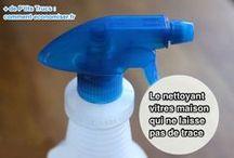 produits ménagers maison