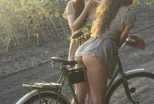 Bike and girls