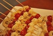 Dinner spoilers...aka appetizers  / by Mikah Hagemann