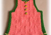 Knits and crochet by Marita Svare