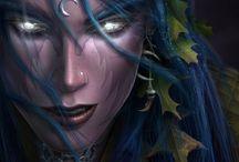 Fantasy ● Elf ● Night ● Female