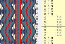 diseños telar egipcio