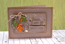 Essentials by Ellen: Halloween & Thanksgiving / Make sure you check out our other Essentials by Ellen pin boards. Each board is organized by occasion and celebrates the creative ways people have used our Essentials by Ellen stamps and dies! / by Ellen Hutson LLC
