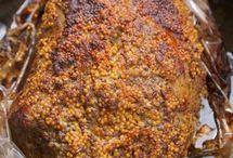 mięso pieczone