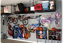 Just garage organizing