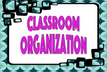 Classroom Organization / Items and ideas to help organize and maintain a classroom.