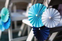 Paperiruusukkeet - Paper rosettes