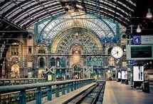 Estaciones de tren/Station train