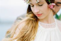 The Wild Rose- Floral crowns / Gorgeous floral crowns designed by the floral designer Linnéa Bergqvist of The Wild Rose