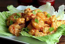 Bang banf shrimp