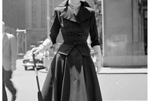 History of skirts / 1950