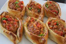 Turkse gerechten en kleine hapjes