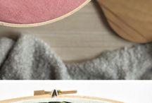 embroidery, knitting, crochet etc.