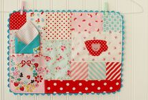 Patchwork Inspiration / Quilts and Quilty things I Love