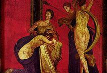 Frescoes, Mosaics, Murals
