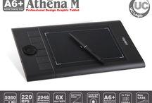 Grafik Tabletler / Çizim Dünyasında elle dokunuşları rahatlıkla yapabileceğiniz teknolojil çözümlerden biriside Garafik tabletlerdir.
