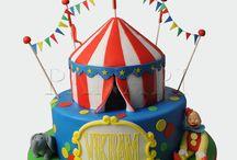 Circus Cakes by Panari