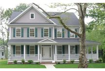 Farmhouses for Today / These great plans offer everything you love in farmhouses (like wide porches and lots of curb appeal) but with streamlined layouts and great modern amenities.