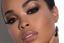 Dark skin beauty! / Make up