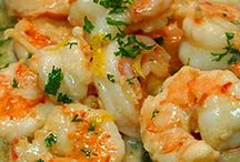 shrimp recipes / by Rosanne Johnson
