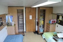 Theophilus Tower / These are Room Photos of a standard double room in the Theophilus Tower. This room is decorated for appearance only and NONE of the decorations (ie: books, bedding, personal items, etc.) are included with the room.View each picture to see what furniture is provided.  / by University of Idaho Housing & Residence Life