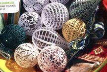 Crochet Christmas dec