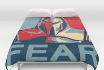 For The Home / throw pillows, duvet covers, rugs, mugs, home decor.  Amazing items sold by Society6 to support great artists