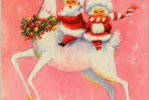 Vintage Christmas images / by Leann Lindeman