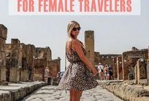 Female Traveler - Top 10 Travel Lists